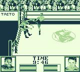 Ring Rage Game Boy Kick him in the ropes.