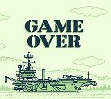 Turn and Burn: The F-14 Dogfight Simulator Game Boy Game over