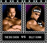 WWF Wrestlemania 2000 Game Boy Color The Big Show VS Billy Gunn