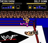 WWF Wrestlemania 2000 Game Boy Color Billy in action