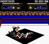 WWF Wrestlemania 2000 Game Boy Color Big Boss Man slap the Taker in his face