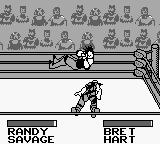 WWF King of the Ring Game Boy Randy sleep like a log