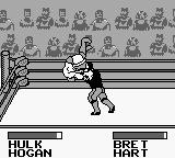WWF King of the Ring Game Boy Legend fight with Bret and Hulk