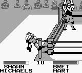 WWF King of the Ring Game Boy Bret wins