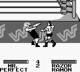 WWF King of the Ring Game Boy Mr. Perfect - against Razor not so perfect