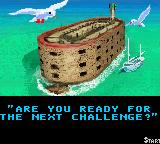 Fort Boyard Game Boy Color The fort in the introduction