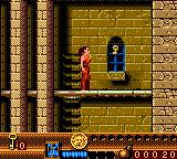 Fort Boyard Game Boy Color You found the first key.