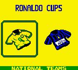 Ronaldo V-Football Game Boy Color Choose your team.