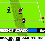 Ronaldo V-Football Game Boy Color Throw-in