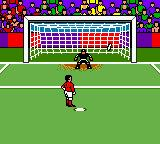 Ronaldo V-Football Game Boy Color The opponent shoots.