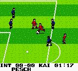 Ronaldo V-Soccer Game Boy Color We must stop the opponent!