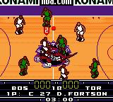 NBA in the Zone 2000 Game Boy Color The beginning