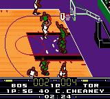 NBA in the Zone 2000 Game Boy Color THROW!