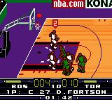 NBA in the Zone 2000 Game Boy Color Fly to the sky.