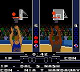 NBA in the Zone 2000 Game Boy Color Let's go...