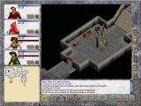 Avernum V Windows Fighting a skeleton.