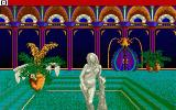 Sinbad and the Throne of the Falcon Amiga A scene from the introduction, inside the Caliph's palace