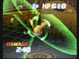 Digimon Digital Card Battle PlayStation Polygon battle mode! See your Digimon attack each other in 3D.