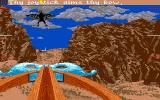 Sinbad and the Throne of the Falcon Amiga Shooting down a Pteranoxos