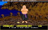 Sinbad and the Throne of the Falcon Amiga Will Sinbad fool the Genie by making this tricky wish?
