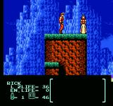 Flying Warriors NES Running into someone who needs help.