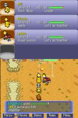 Pokémon Mystery Dungeon: Blue Rescue Team Nintendo DS Silent chasm, inside