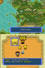 Pokémon Mystery Dungeon: Blue Rescue Team Nintendo DS First boss