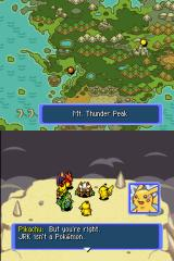 Pokémon Mystery Dungeon: Blue Rescue Team Nintendo DS What a shock!