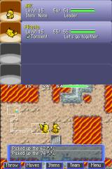 Pokémon Mystery Dungeon: Blue Rescue Team Nintendo DS Stairs to the next level
