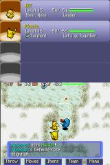 Pokémon Mystery Dungeon: Blue Rescue Team Nintendo DS Enemy used harden.