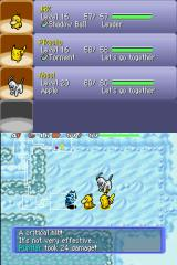 Pokémon Mystery Dungeon: Blue Rescue Team Nintendo DS A critical hit