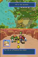 Pokémon Mystery Dungeon: Blue Rescue Team Nintendo DS Almost the end
