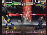 X-Men: Mutant Academy PlayStation Cyclops vs Wolverine