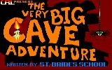 The Very Big Cave Adventure Amstrad CPC Title