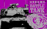 Abrams Battle Tank DOS Title screen (CGA)