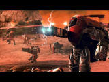 "Warhammer 40,000: Dawn of War - Soulstorm Windows Intro cutscene - ""In the grim darkness of the far future, ..."