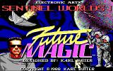Sentinel Worlds I: Future Magic DOS Title screen (EGA)
