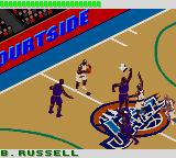 NBA 3 on 3 Featuring Kobe Bryant Game Boy Color Blocking.