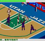 NBA 3 on 3 Featuring Kobe Bryant Game Boy Color Kobe in action