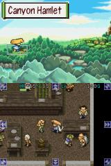 Mystery Dungeon: Shiren the Wanderer Nintendo DS In the inn