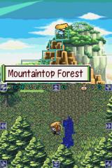 Mystery Dungeon: Shiren the Wanderer Nintendo DS Mountaintop Forest