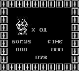 Titus the Fox: To Marrakech and Back Game Boy Your bonus level score