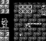 Titus the Fox: To Marrakech and Back Game Boy Skeletons are one of your new enemies.