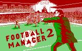 Football Manager 2 DOS Title screen