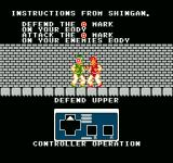 Flying Dragon: The Secret Scroll  NES Combat training instructions