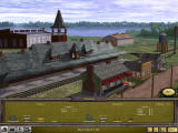 Railroad Tycoon II Windows Station screen - adding structures.