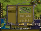 Railroad Tycoon II Windows Selecting engines.