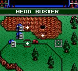 Head Buster Game Gear Sending out one robot in front with the rest as backup.