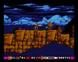 Pegasus Amiga From the second level. Now the game becomes a platformer, and it will continue to shift like this, every other level.