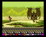 Pegasus Amiga A big flying demon, at the end of the swamp-world.